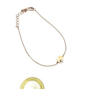 Stephisimo Armband rosegold mit Perle