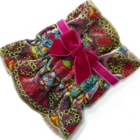 Samtstülpchen Piroschka pink von Lieblingsstükke by Martina Wodke