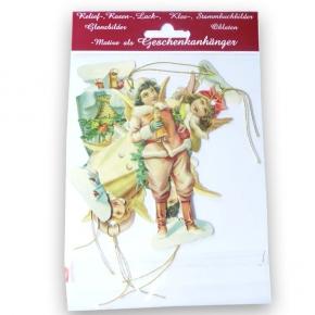 Nostalgische Geschenkanhänger für die Weihnachtszeit