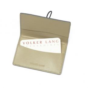 Volker Lang Visitenkarten-Täschchen Rial schwarz