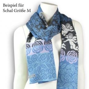 Wiebke Möller Schal Lucille M schiefer-taubenblau