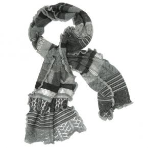 Invero Merino-Wollschal Manu nebel