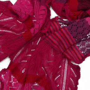 Invero Merinowoll-Schal Manu pink