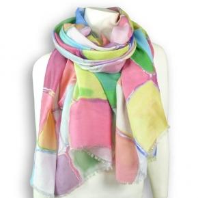 Nila Pila Schal Mila - großer Schal mit großem Muster