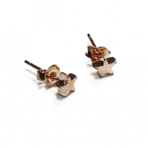 Stephisimo Sterne Ohrstecker roségold und mini
